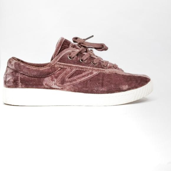 tretorn velvet sneakers